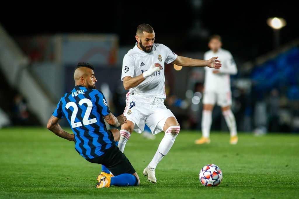Karim Benzema Inter Milan vs Real Madrid