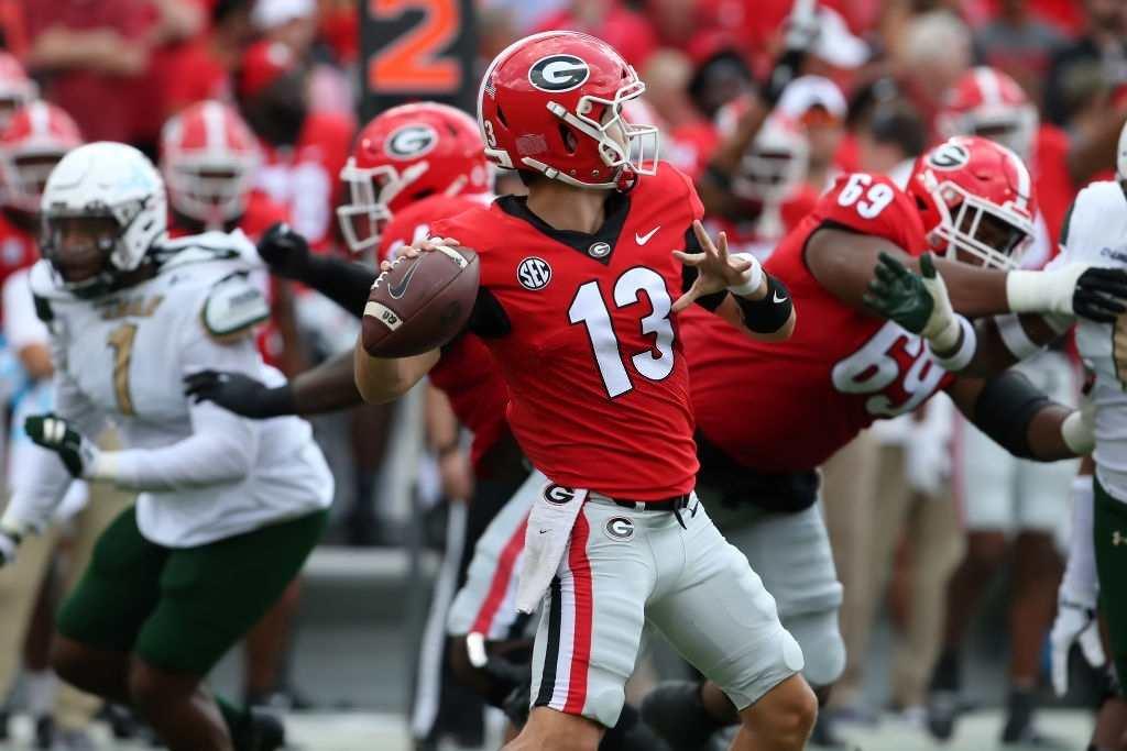 South Carolina Gamecocks vs Georgia Bulldogs