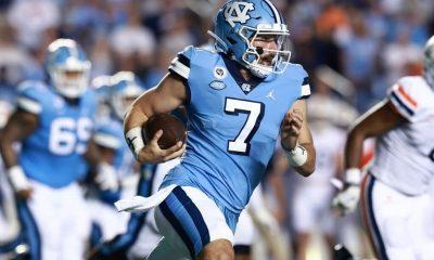 North Carolina Tar Heels vs Georgia Tech Yellow Jackets