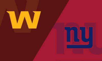 Giants vs Washington Free Thursday Night Football Live Streams Reddit