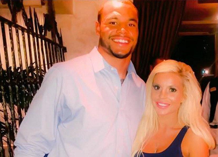 Prescott's ex-girlfriend Dallas Nicole Parks