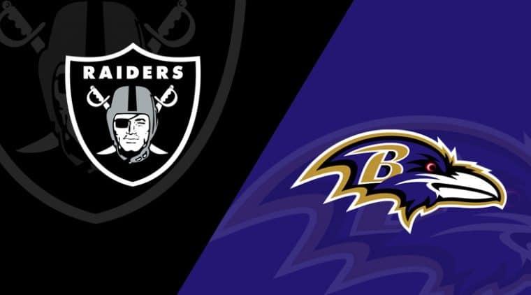 Raiders vs Ravens Free NFL Monday Night Football Live Streams Reddit