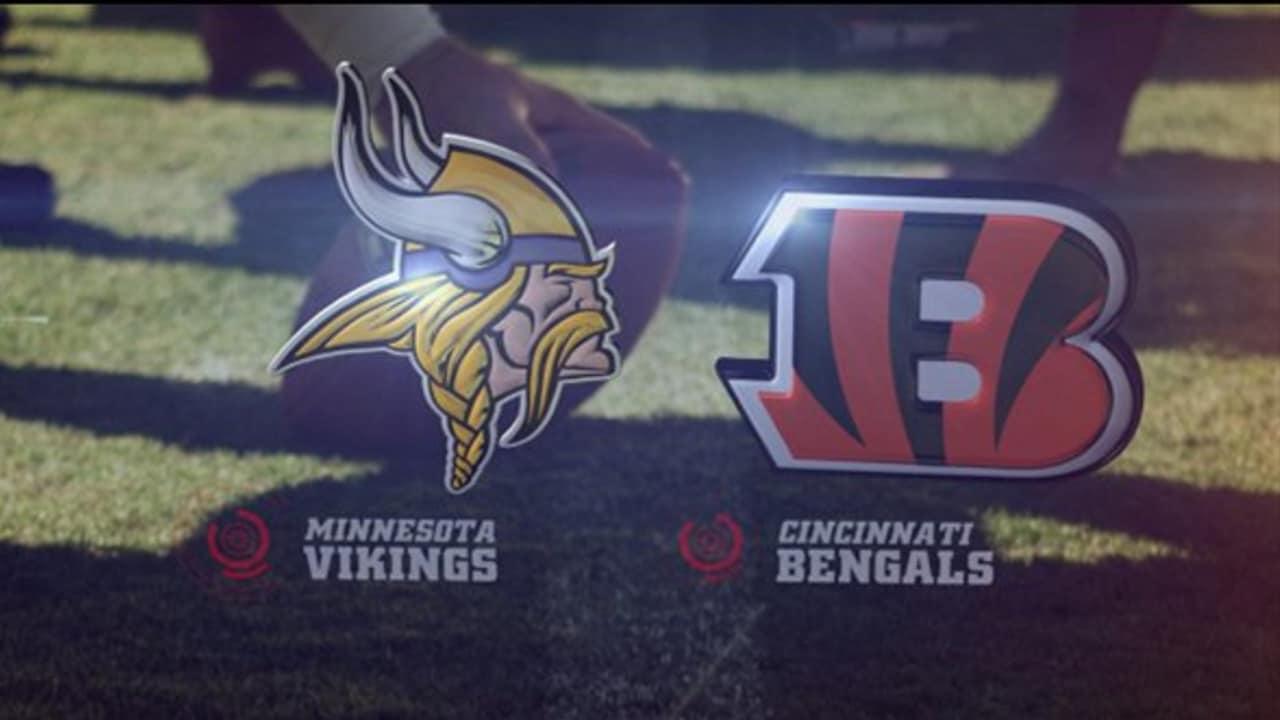 Vikings vs Bengals Free NFL Live Streams Reddit