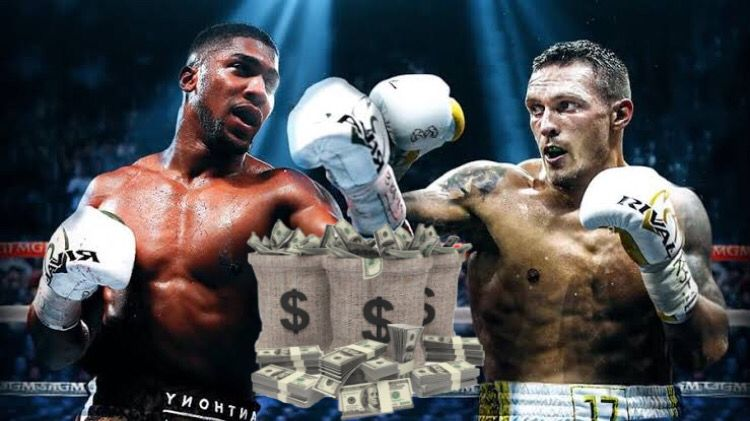 Anthony Joshua vs Oleksandr Usyk Fight Purse Payouts Salaries