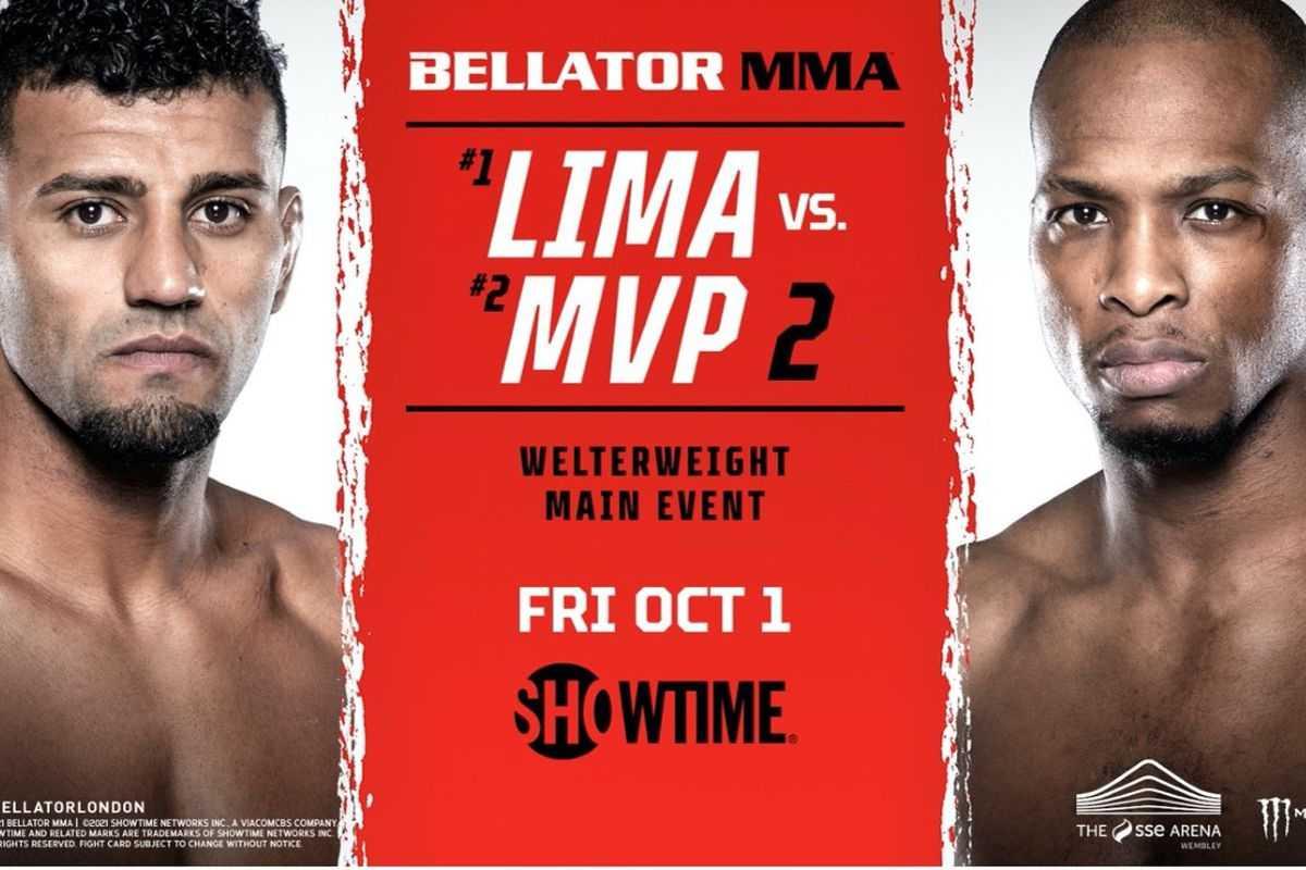 Bellator 267 Lima vs MVP 2 fight card