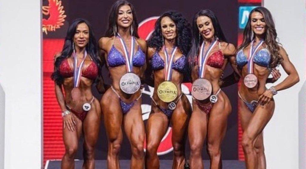 2021 Ms Olympia Bikini Winners