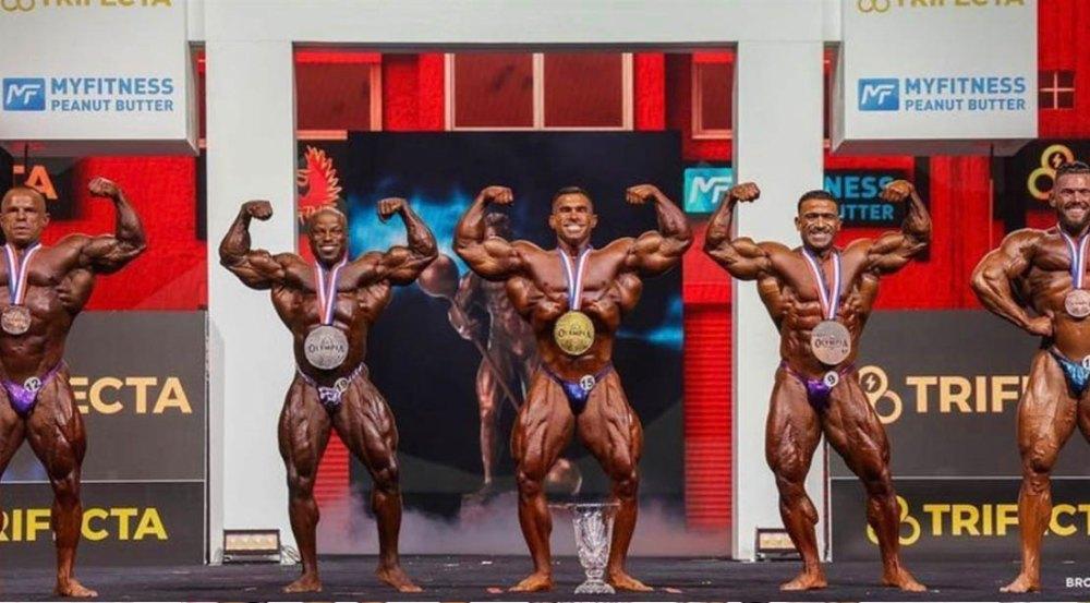 2021 Olympia 212 Winners