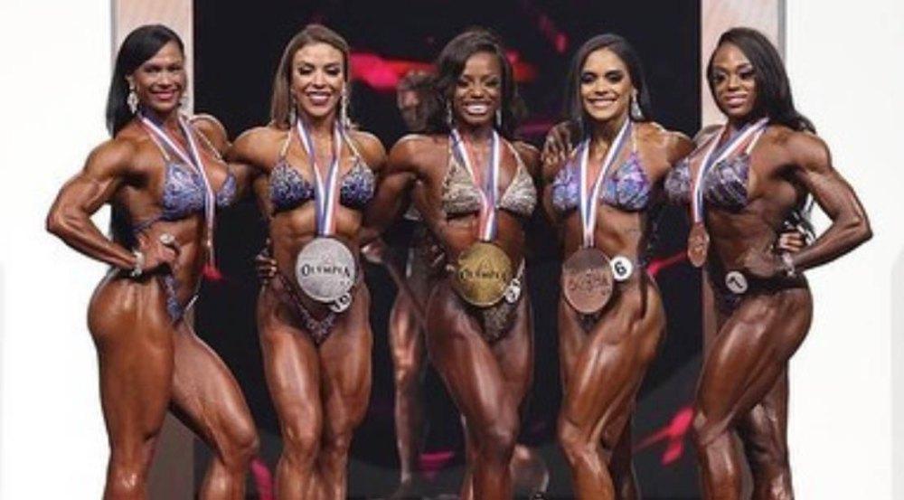 2021 Olympia Figure Winners