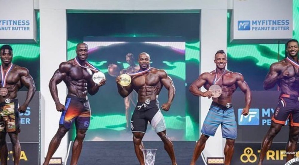 2021 Olympia Men's Physique Winners