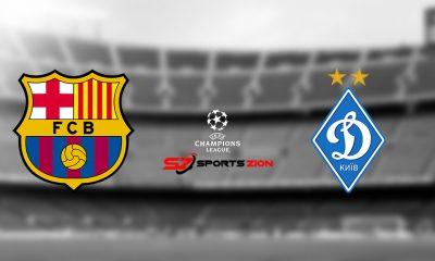 Barcelona vs Dynamo Kyiv Free Live Streams