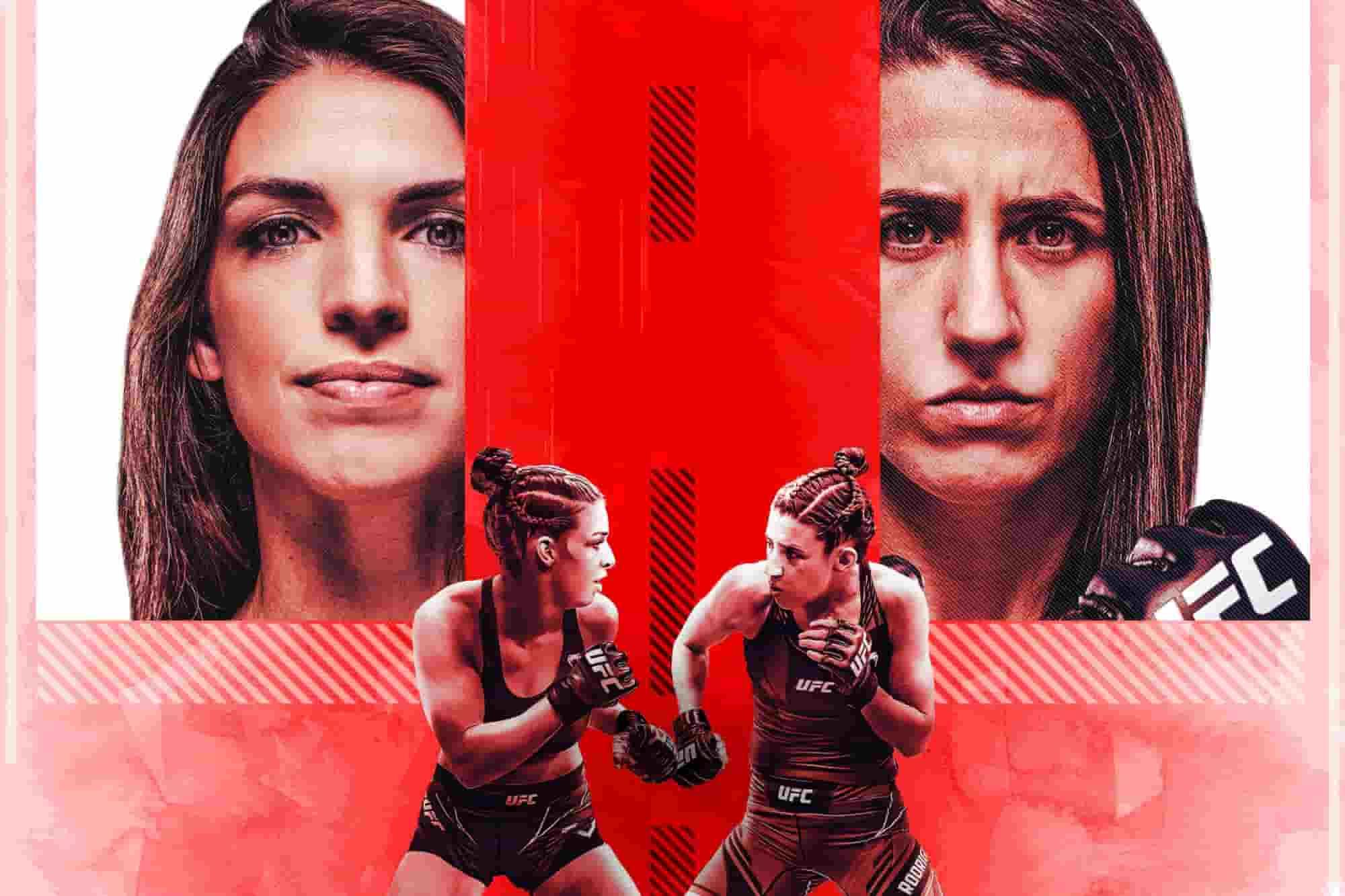 Dern vs Rodriguez Fight
