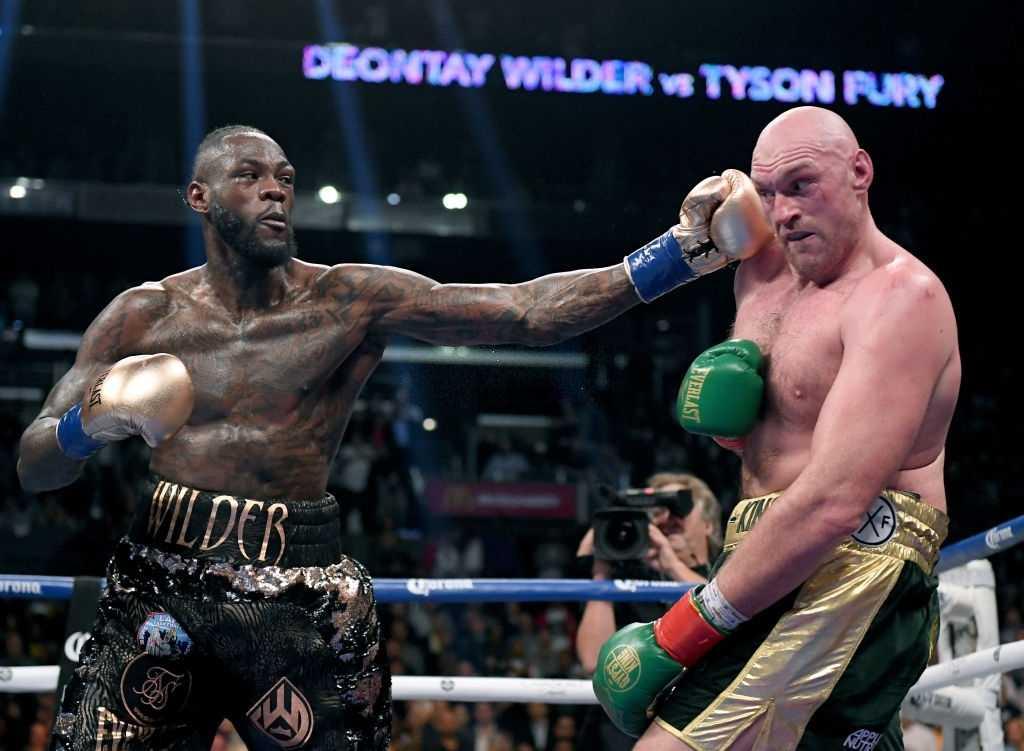 Deontay Wilder vs Fury