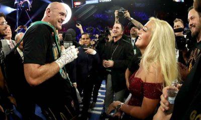Tyson Fury and wife, Paris Fury