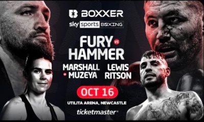 Hughie Fury vs Christian Hammer live stream
