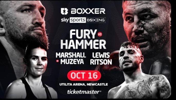 Watch Fury Vs Hammer 10/16/21