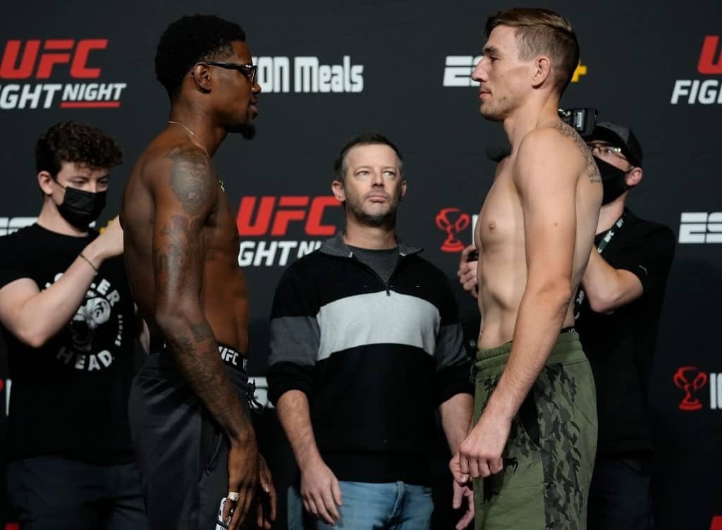 Kevin Holland vs Kyle Daukaus