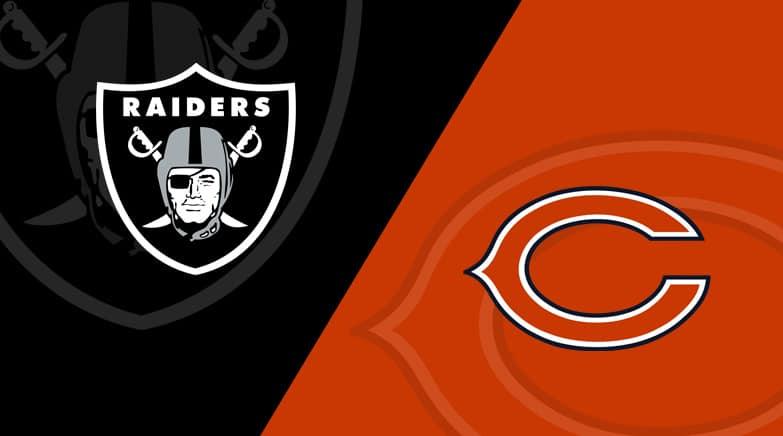 Las Vegas Raiders vs Chicago Bears