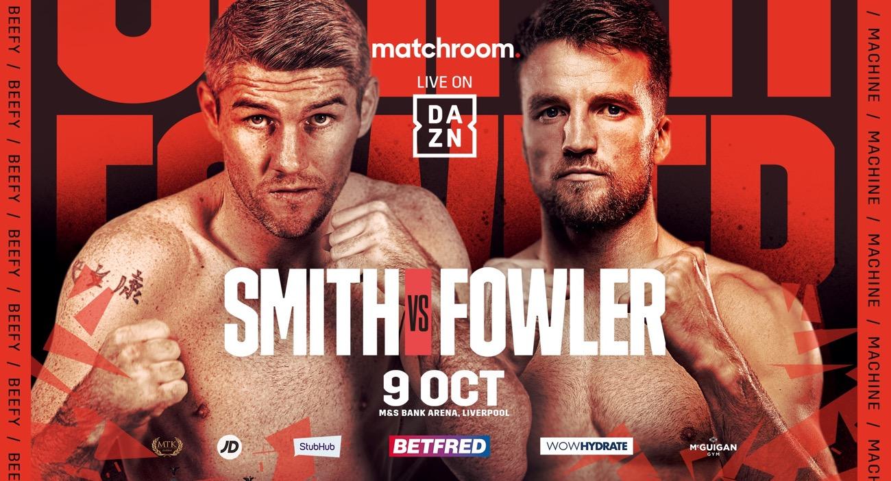 Watch Liam Smith vs Anthony Fowler 10/9/21
