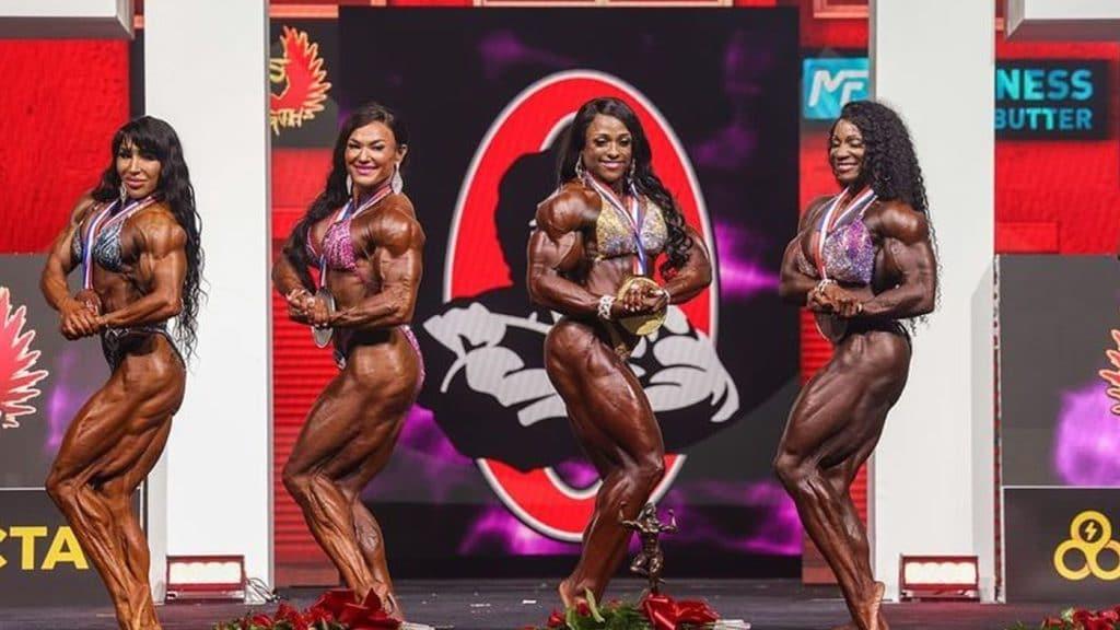 Ms. Olympia 2021 Winners