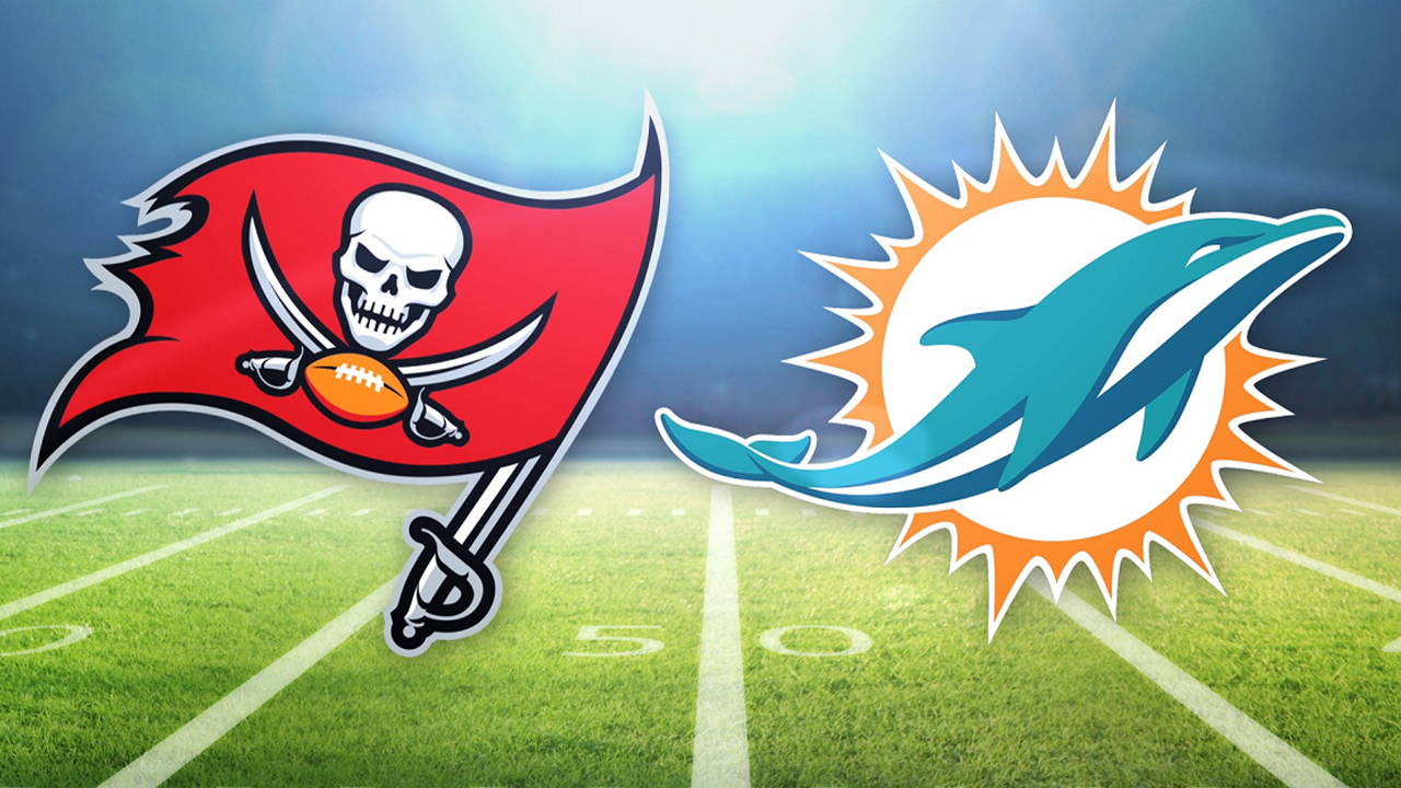 Tampa Bay Buccaneers vs Miami Dolphins