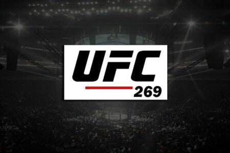UFC 269 fight card