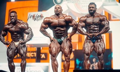 mr olympia 2021 results