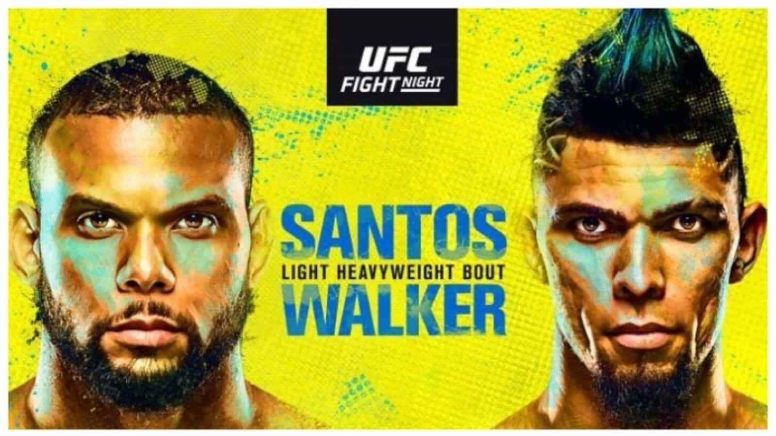 vegas 38 Thiago Santos vs Johnny Walker purse